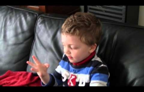 max as a little boy