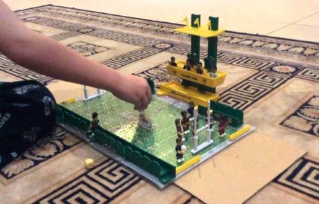 Nrl micro figures game football
