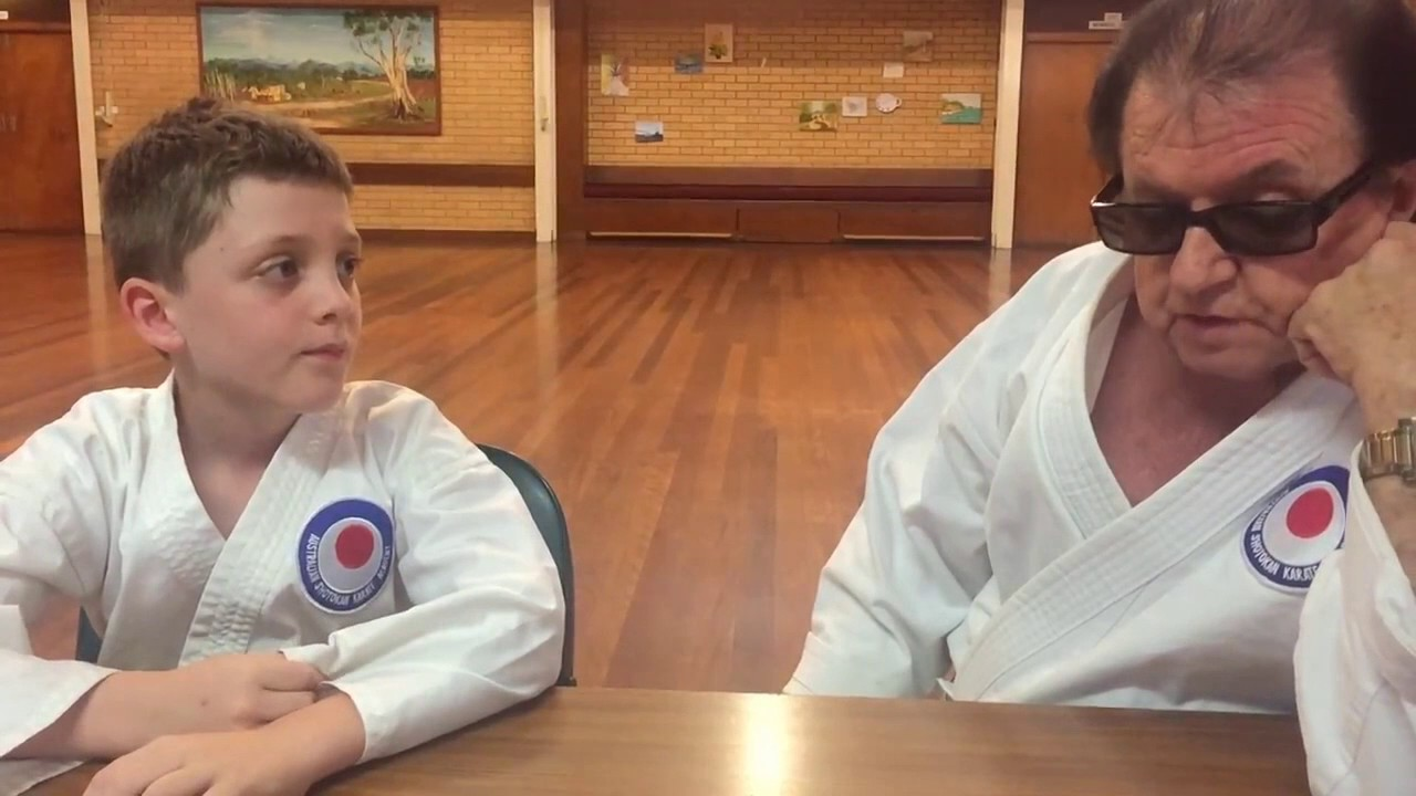 Max Tremolada interviews Alan Bainbridge 7th dan black belt. karate shotokan
