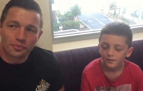 Max Tremolada interviews Ian Jacobs World Champion Kickboxing Champion